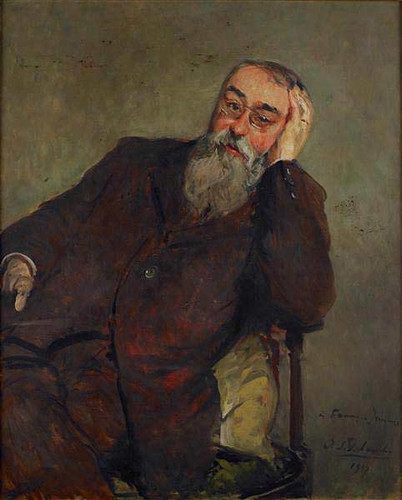 Study For The Portrait Of Francis Jammes By Jacques Emile Blanche