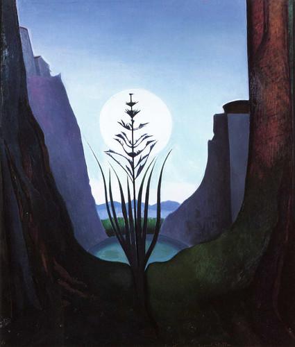 The Little Lake By Joseph Stella