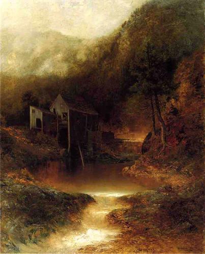 The Old Mill By Ralph Albert Blakelock