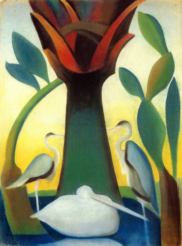 The Palms (Also Known As Heron) By Joseph Stella