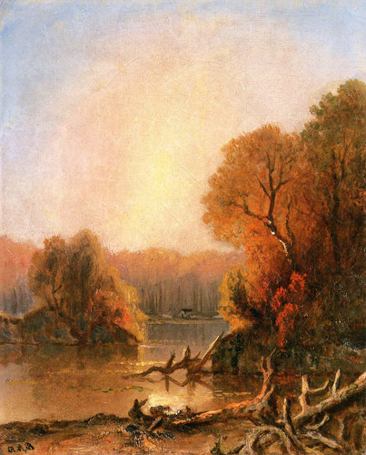 Untitled Fall Landscape By Ralph Albert Blakelock