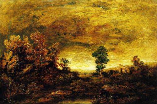 A Mountain Road Near Gorham N.h. By Ralph Albert Blakelock