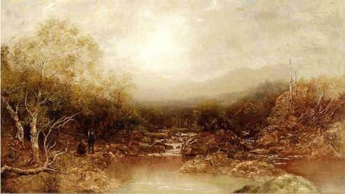 Autumn In The Adirondacks By Ralph Albert Blakelock