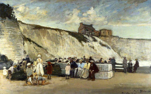 Black Rock Brighton East Sussex By Jacques Emile Blanche