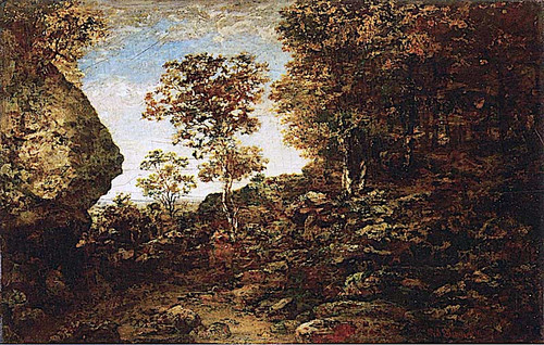 Edge Of The Forest 1 By Ralph Albert Blakelock