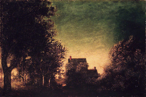 Edge Of The Forest By Ralph Albert Blakelock