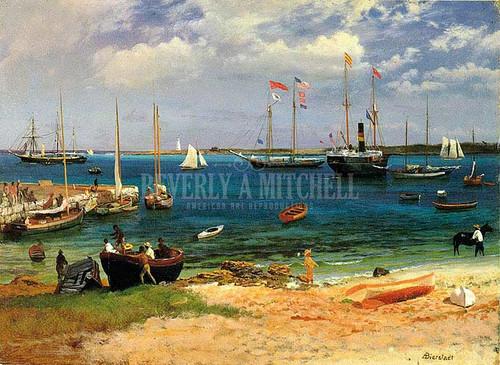 Nassau Harbor by Albert Bierstadt