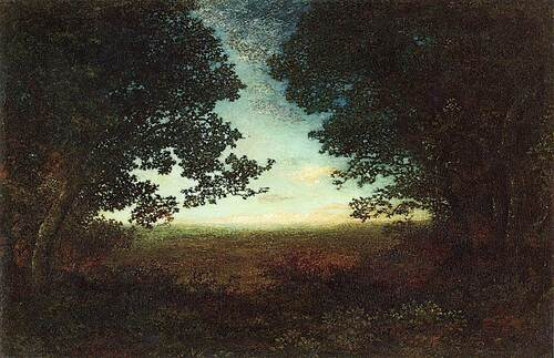 Evening Silhouettes By Ralph Albert Blakelock