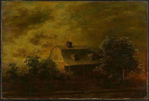 Farmhouse Of F.b. Guest By Ralph Albert Blakelock