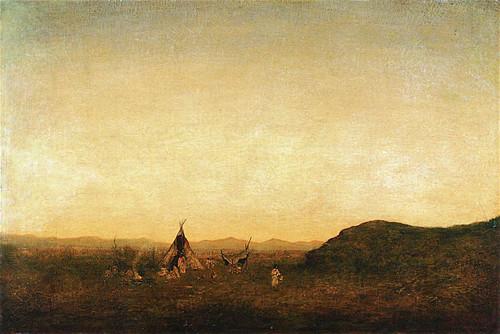 Indian Camp By Ralph Albert Blakelock