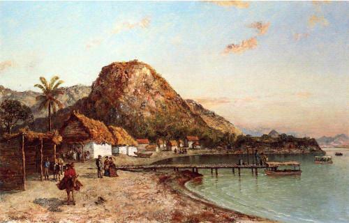 Jamaican Coastal Scene By Ralph Albert Blakelock