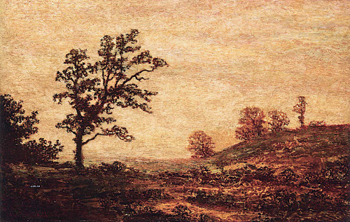 Landscape Evening Glow By Ralph Albert Blakelock