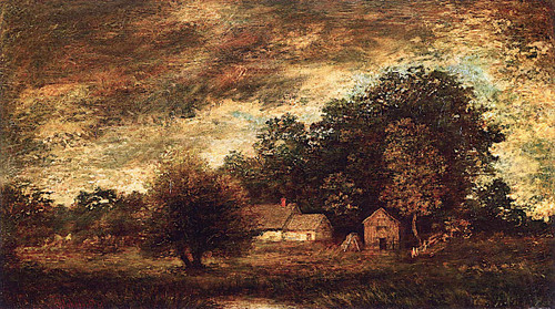 Landscape With Farm By Ralph Albert Blakelock