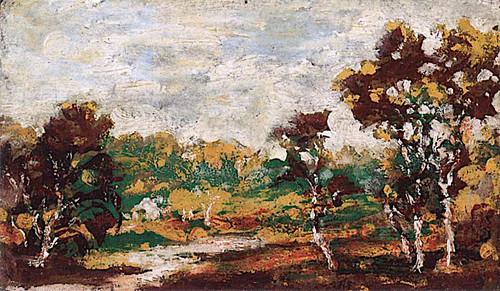 Middletown Landscape By Ralph Albert Blakelock