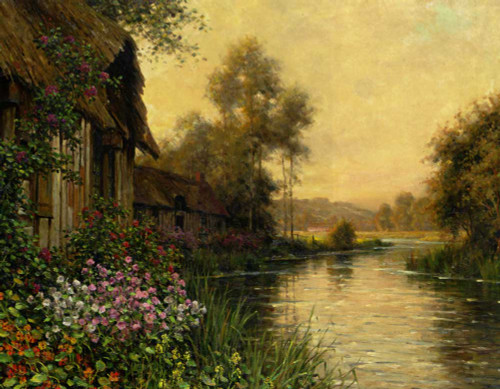 A Summer Evening Beaumont By Louis Aston Knight