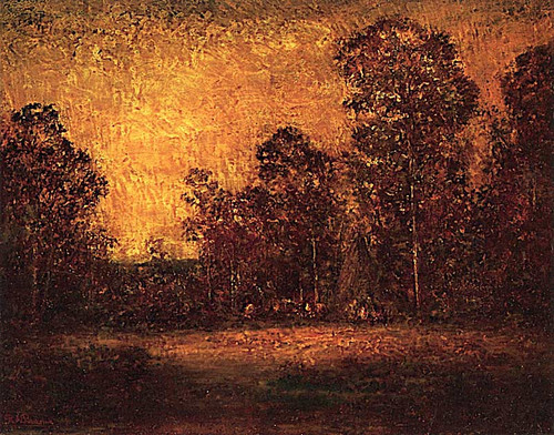 Afterglow By Ralph Albert Blakelock