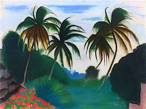 Barbados By Joseph Stella
