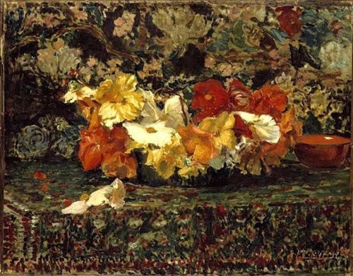 Begonias By Jacques Emile Blanche