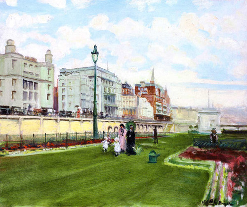 Brighton By Jacques Emile Blanche