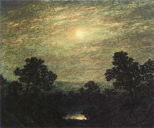 Brook By Moonlight By Ralph Albert Blakelock