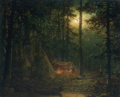 Canadian Indian Hunters By Ralph Albert Blakelock