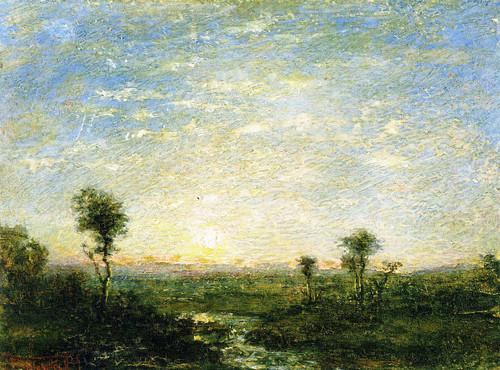 Daybreak By Ralph Albert Blakelock