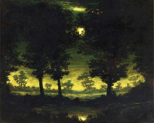 Enchanted Pool By Ralph Albert Blakelock