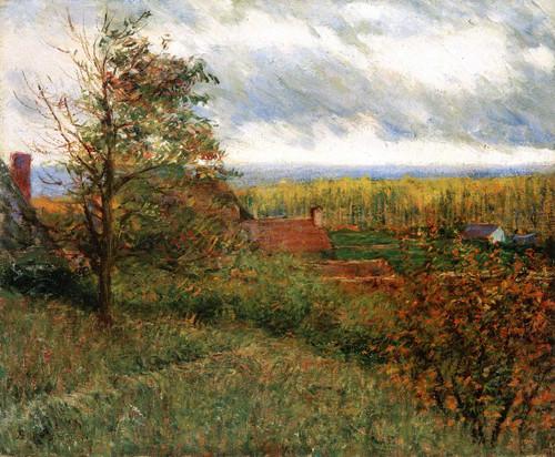 Giverny Hillside By John Leslie Breck
