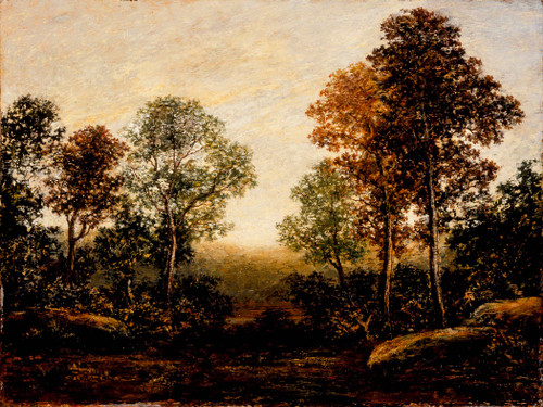 Landscape With Trees By Ralph Albert Blakelock