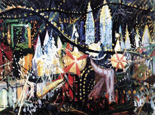 Luna Park By Joseph Stella