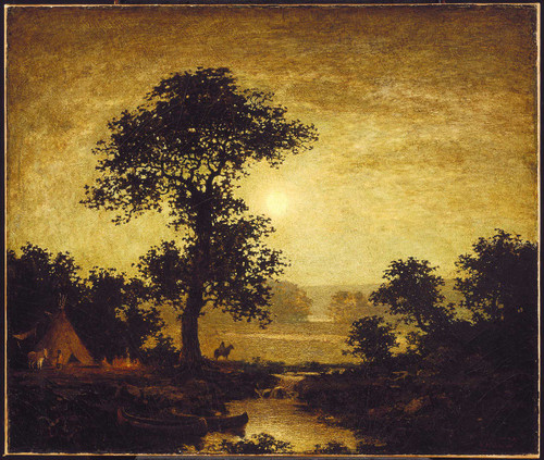 Moonlight 1 By Ralph Albert Blakelock