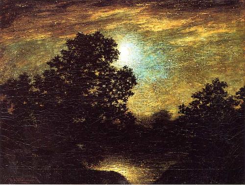 Moonlight 5 By Ralph Albert Blakelock