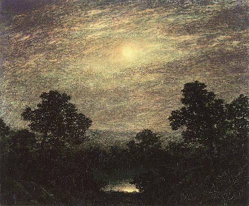 Moonlight 6 By Ralph Albert Blakelock