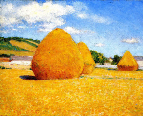 Studies Of An Autumn Day No. 7 By John Leslie Breck