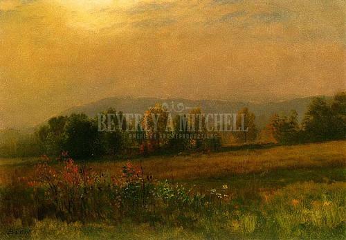 New England Landscape by Albert Bierstadt