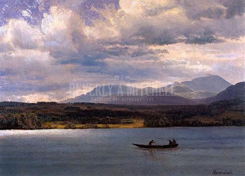 Overlook Mountain From Olana by Albert Bierstadt
