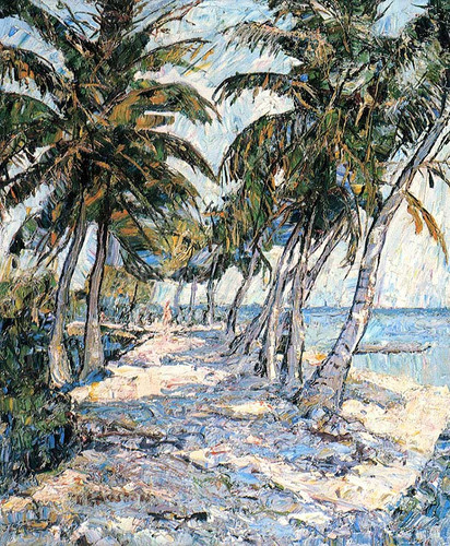 Avenue Of The Palms by Ernest Lawson
