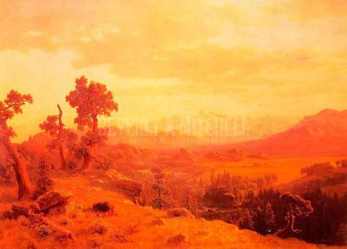 Wind River Country 1 by Albert Bierstadt