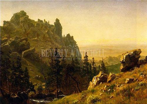 Wind River Country by Albert Bierstadt