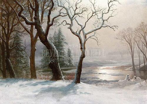 Winter In Yosemite by Albert Bierstadt