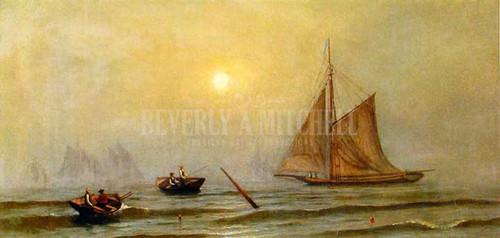 A Foggy Day by Francis A. Silva