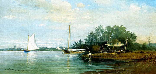 Lakeside Branchport New York by Francis A. Silva