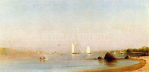Palisades Of The Hudson River by Francis A. Silva