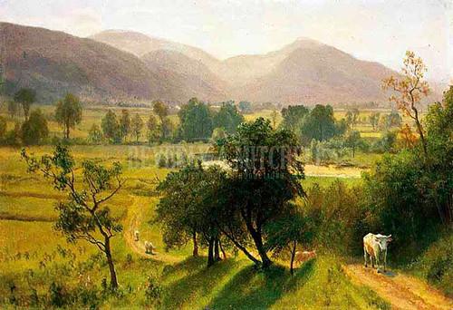 Conway Valley New Hampshire by Albert Bierstadt