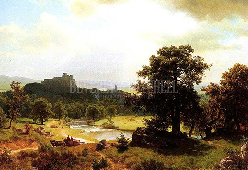 Days Beginning by Albert Bierstadt