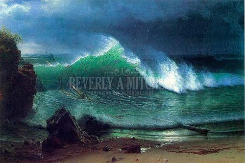 Emerald Sea by Albert Bierstadt