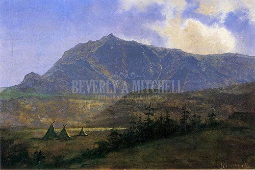 Indian Encampment by Albert Bierstadt