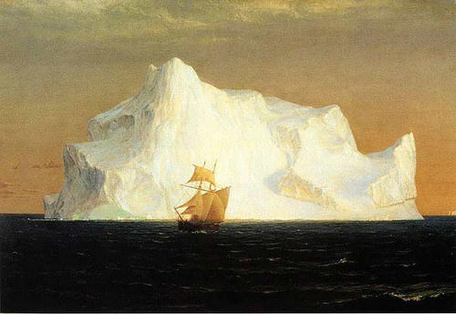 The Iceberg by Frederic Edwin Church