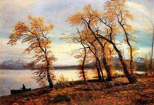 Lake Mary California by Albert Bierstadt