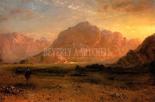 The Arabian Desert by Frederic Edwin Church
